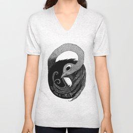 bird women 3 Unisex V-Neck