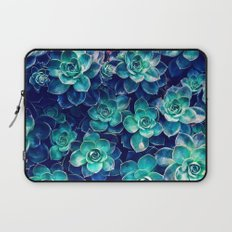 Plants of Blue And Green Laptop Sleeve