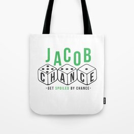 Jacob Chance Tote Bag