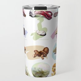 Mushroom Collection Travel Mug