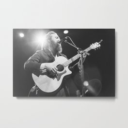 Iron And Wine Metal Print