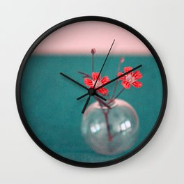sweet I Wall Clock