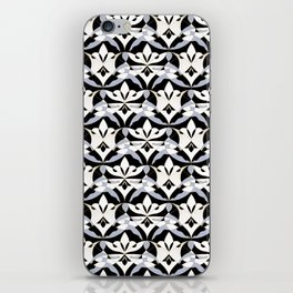 Interwoven XX - Black iPhone Skin