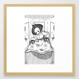 The Flatwoods Monster Framed Art Print