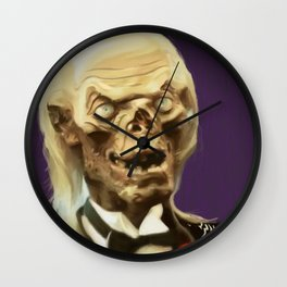 Crypt Keeper Wall Clock