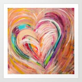 Big Heart Art Print