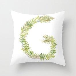Initia G Throw Pillow