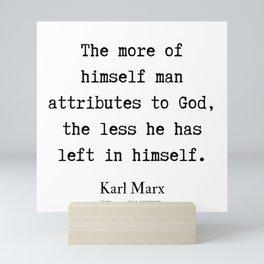 50    Karl Marx Quotes   190817 Mini Art Print