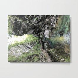 Hiking through the Gorge Metal Print