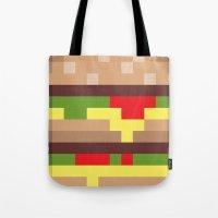 mac Tote Bags featuring Bit Mac by Marc Beaudette