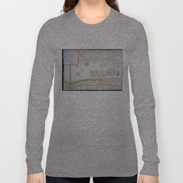 Vintage Map of New Orleans Louisiana (1747) Long Sleeve T-shirt