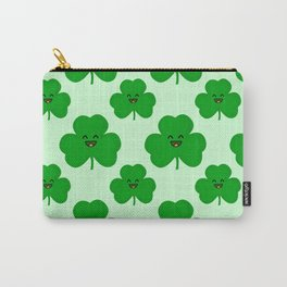 Happy Shamrock Carry-All Pouch