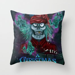 A Christmas Scarol by Topher Adam 2016 Throw Pillow