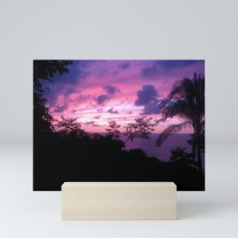 Mexican Sunset Mini Art Print