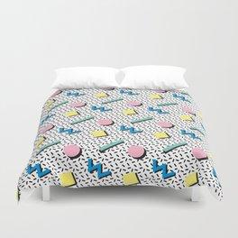 Memphis pattern no.3 Duvet Cover