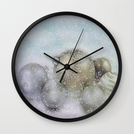 Romantic Christmas Wall Clock