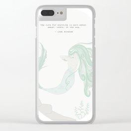Saltwater Siren Clear iPhone Case