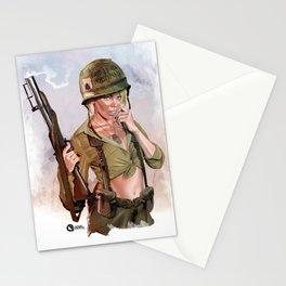 Sexy grunt Stationery Cards
