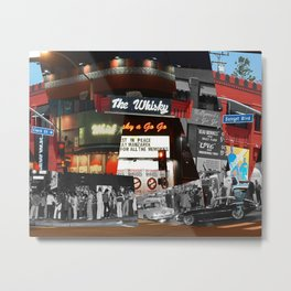 Time At The Whisky Metal Print