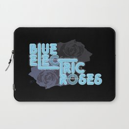 Blue Electric Roses Laptop Sleeve