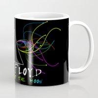 floyd Mugs featuring Pink Floyd by sgrunfo