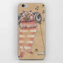 MUSIC MONSTER iPhone Skin