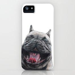 Frenchie Greyson iPhone Case