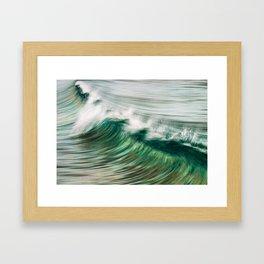 Wave Art 2 Framed Art Print