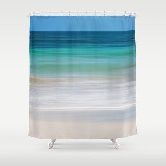SEA ESCAPE Shower Curtain