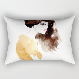 Looking forward Rectangular Pillow