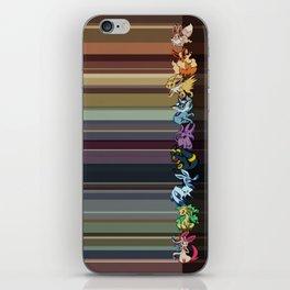 Eeveelutions iPhone Skin
