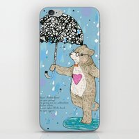 Mister Bear iPhone & iPod Skin