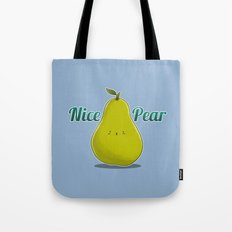 Nice Pear Tote Bag