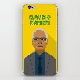 Claudio Ranieri FC Nantes Manager iPhone Skin