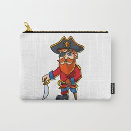 Pirate Cartoon Character Carry-All Pouch
