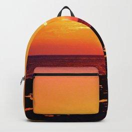 Orange Morning Backpack