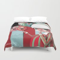 mars Duvet Covers featuring mars by Redmist