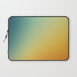 Gradient Colours: Orange Blue Laptop Sleeve