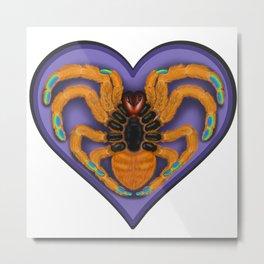 Tarantula heart Metal Print