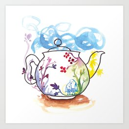 It's Tea-riffic! Art Print