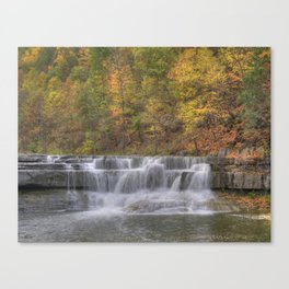 Lower Taughannock Falls 2 Canvas Print