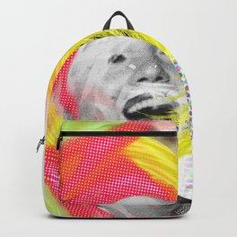 Blonde Marilyn Collage Art Backpack