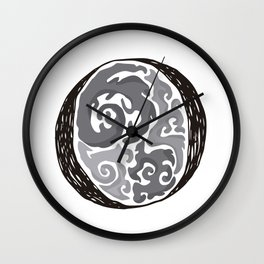 The Brainy O Wall Clock