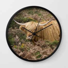 Highland Lad Wall Clock