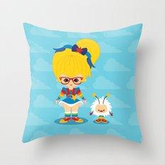 Rainbow Brite  Throw Pillow