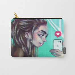 Selfie Girl Carry-All Pouch