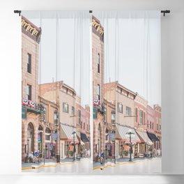 Town of Deadwood Blackout Curtain