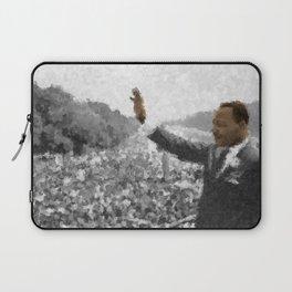 Martin Luther King Junior Wall Art Portrait, Speech, Home Decor, Dorm Decor, Freedom, Laptop Sleeve