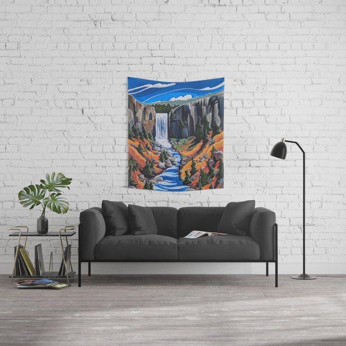 Tumalo Falls Wall Tapestry