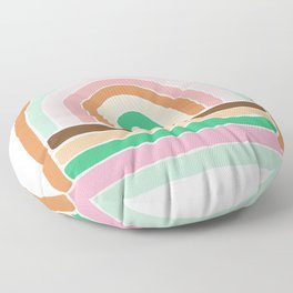 rainbow : original Floor Pillow